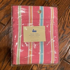 Brand New! Pottery Barn Kids Pink Shower Curtain